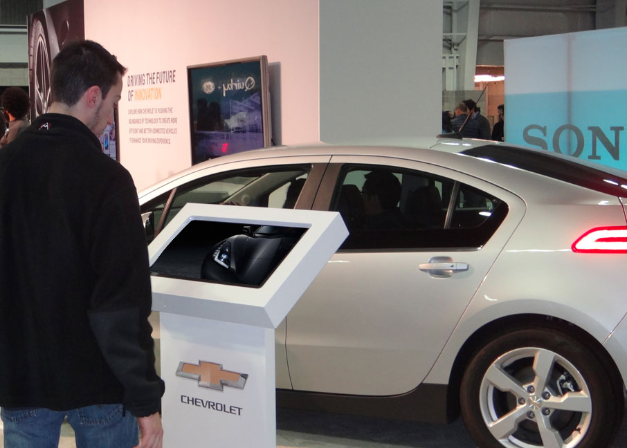 Chevrolet Engagement at Engadget NYC